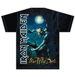 Iron Maiden Men's Tee: Fear of the Dark Tree Sprite