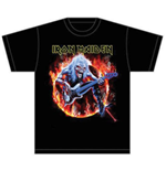 Iron Maiden Men's Tee: Fear Live Flames