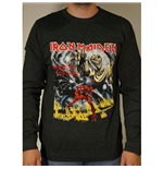 Iron Maiden Men's Sweatshirt: Number of the Beast