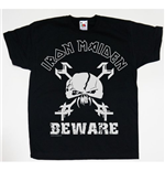 Iron Maiden Youth's Tee: Beware