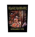 Iron Maiden Back Patch: Somewhere In Time