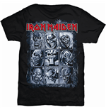 Iron Maiden Men's Tee: Nine Eddies