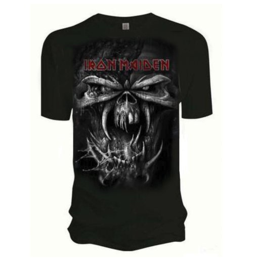 Iron Maiden Men's Tee: Final Frontier Eddie Vintage