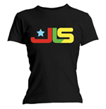 JLS Women's Skinny Fit Tee: Logo Multi Colour