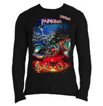 Judas Priest Men's Long Sleeved Tee: Painkiller