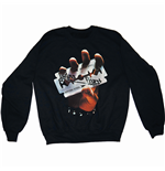 Judas Priest Men's Sweatshirt: British Steel