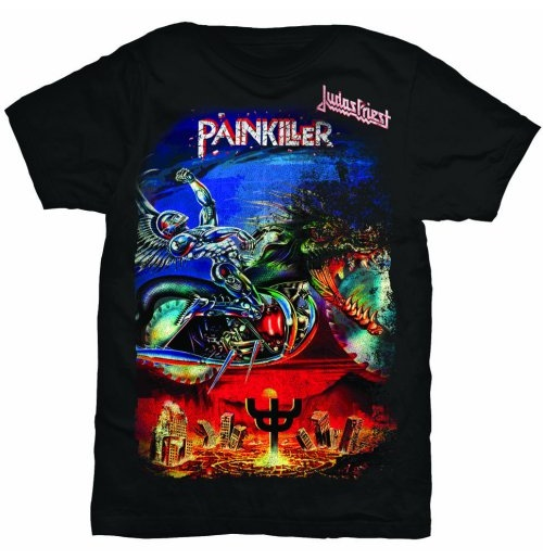 Judas Priest Men's Tee: Painkiller