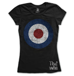 The Who Women's Tee: Target Distressed