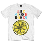 Stone Roses Men's Tee: Logo Lemon Multicolour