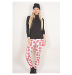 The Rolling Stones Fashion Leggings: Classic Tongue Repeat