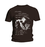 The Doors Men's Tee: LA Woman Lyrics