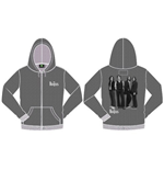 The Beatles Men's Hooded Top: White Album