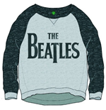 The Beatles Women's Sweatshirt: Drop T Logo