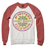 The Beatles Men's Sweatshirt: Sgt Pepper Drum