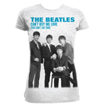 The Beatles Women's Tee: You Can't Buy Me Love