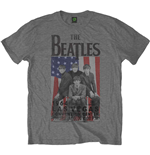 The Beatles Men's Tee: Flag/Vegas