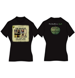 The Beatles Women's Back Print Tee: Long & Winding Road