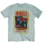 The Beatles Men's Tee: Hamburg Poster 1962
