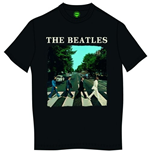 The Beatles Men's Tee: Abbey Road & Logo