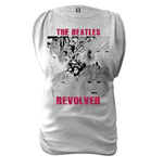 The Beatles Women's Oil Washed Tee: Revolver