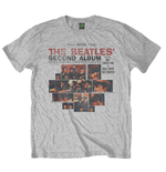 The Beatles Men's Tee: Second Album (Small)