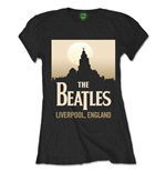 The Beatles Women's Tee: Liverpool England