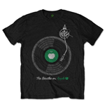 The Beatles Men's Tee: Apple Turntable