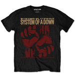 System of a Down Men's Tee: Fisticuffs