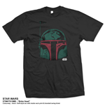 Star Wars Men's Tee: Boba Head