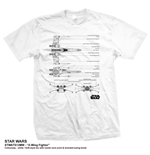 Star Wars Men's Tee: X-Wing Fighter