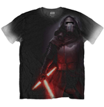 Star Wars Men's Sublimation Tee: Kylo Side Print