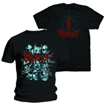 Slipknot Men's Tee: Masks 2