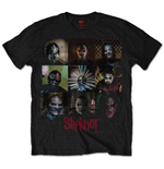 Slipknot Men's Tee: Blocks