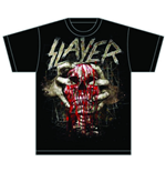 Slayer Men's Tee: Skull Clench