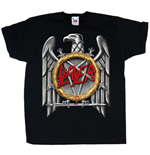 Slayer Youth's Tee: Silver Eagle