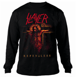 Slayer Men's Sweatshirt: Repentless Crucifix