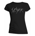 Slayer Women's Tee: Scratchy Logo