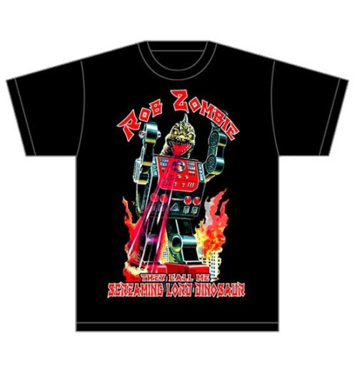 Rob Zombie Men's Tee: Lord Dinosaur