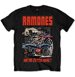 Ramones Men's Tee: Outta Here