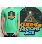 Queens of the Stone Age Men's Tee: Space Mountain