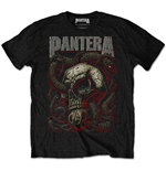Pantera Men's Tee: Serpent Skull
