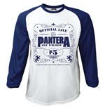 Pantera Men's Raglan/Baseball Tee: 101' Proof (Large)