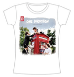 One Direction Women's Skinny Fit Tee: Take me Home- Rough Edges