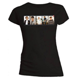 One Direction Women's Skinny Fit Tee: Photo Split