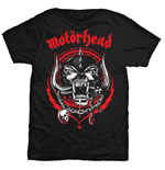 Motorhead Men's Tee: Lightning Wreath
