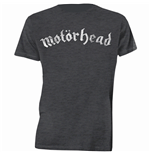 Motorhead Men's Tee: Distressed Logo