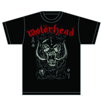 Motorhead Men's Tee: Playing Card