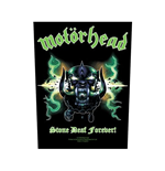 Motorhead Back Patch: Stone Deaf Forever