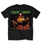 Marilyn Manson Men's Tee: American Family