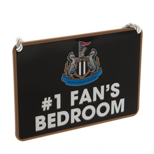Newcastle United F.C. Bedroom Sign No1 Fan